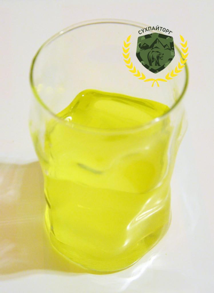 Напиток витаминизированный со вкусом лимона